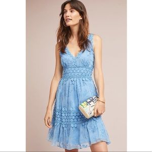 NEW Anthropologie Ranna Gill Veronica Lace Dress